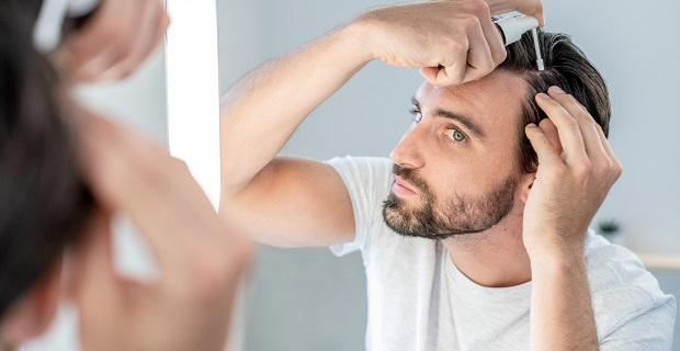 Haarwuchsmittel Anwendung