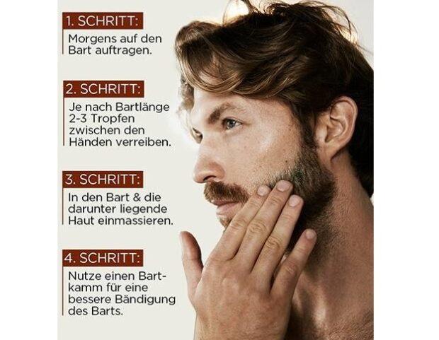 Bartwuchs mit Haarwuchsmittel fördern