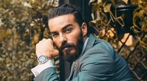 Mann mit vollem Bart