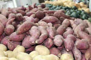 gesunde Haare durch gesunde Ernährung Süßkartoffeln