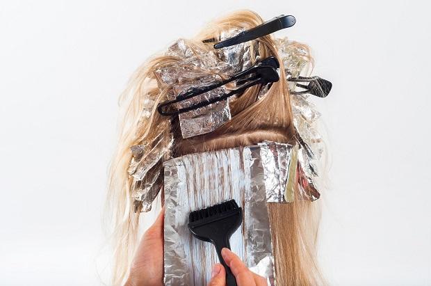 Haare laminieren Friseur