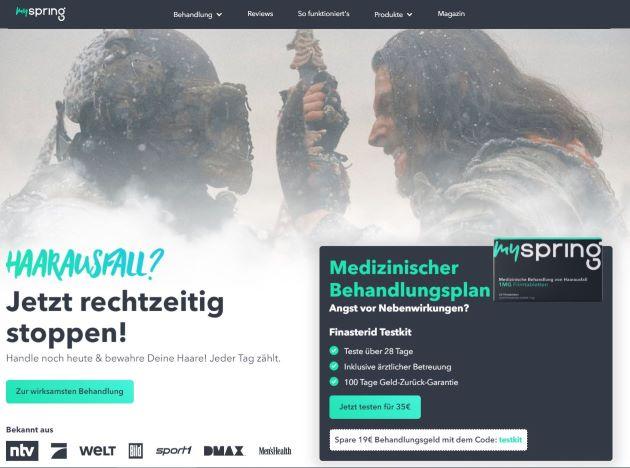 Myspring-test-und-erfahrung-website