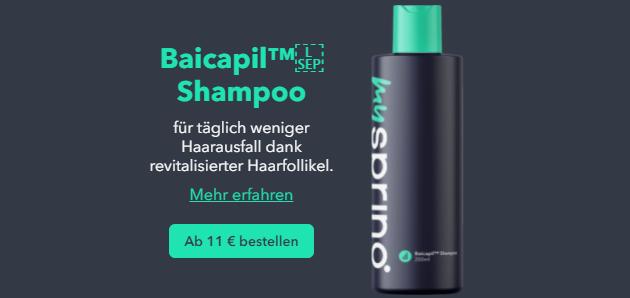 myspring test und erfahrungen produkte baicapil shampoo