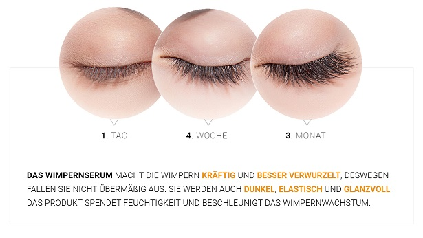 Nanolash Test Wirkung Wimpernserum